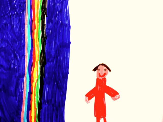 Nello spettacolo Storie al Vento I bambini si incontrano al fiume, ascolto, relazione, amicizia