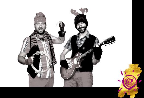 """""""Rudolph"""" spettacolo di Natale con musica - Teatro Positivo - Spettacoli per bambini con attori e burattini con livelli di lettura per diverse età."""
